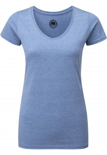 Ladies' HD V-neck T-shirt