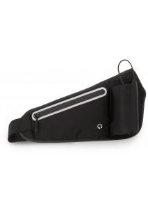 Hip bag with bottle carrier