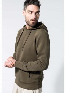Men's organic hooded sweatshirt