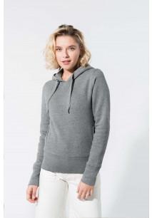 Ladies' organic hooded sweatshirt
