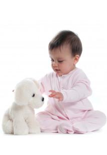 Baby Studded Sleepsuit