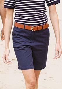Ladies' Stretch Chino Shorts