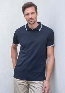 Men's Coolplus® Tipped Polo Shirt