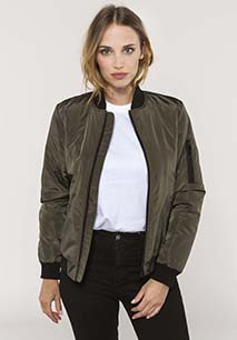 Ladies' bomber jacket