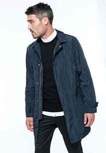 Men's lightweight trenchcoat