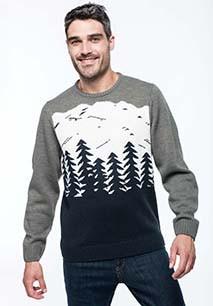 Christmas tree motif jumper