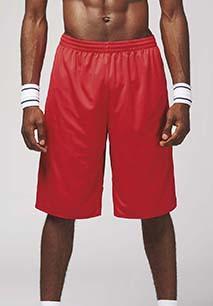 UNISEX reversible basketball shorts