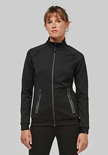 Ladies' high neck jacket