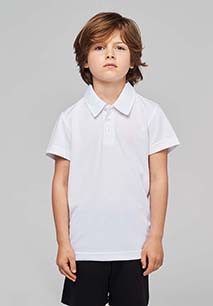 Kids' SHORT-SLEEVED polo shirt