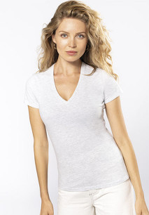 Ladies' BIO150 V-neck t-shirt