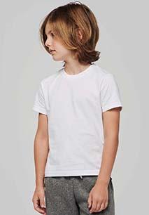 Kids' crew neck short sleeve t-shirt