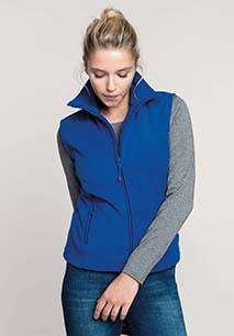 Melodie > Ladies' microfleece gilet