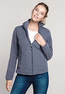 Maureen > Ladies' full zip microfleece jacket