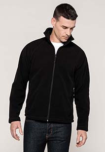 Marco > Full zip microfleece jacket