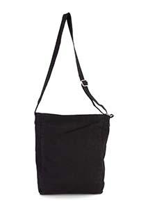 Cotton canvas shoulder bag