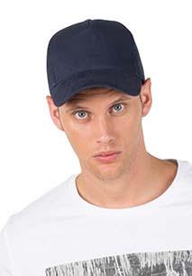 5 PANELS ORGANIC COTTON CAP