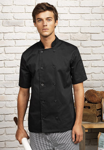 Short-Sleeved Chef's Jacket