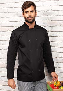 Long-Sleeved Press StudChef's Jacket