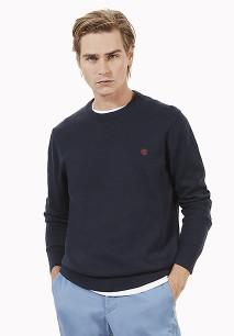 Williams River crew neck organic cotton jumper