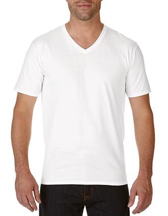 Men's Premium Cotton V-neck T-shirt