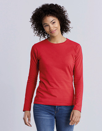 Ladies' Softstyle Long-Sleeved T-shirt