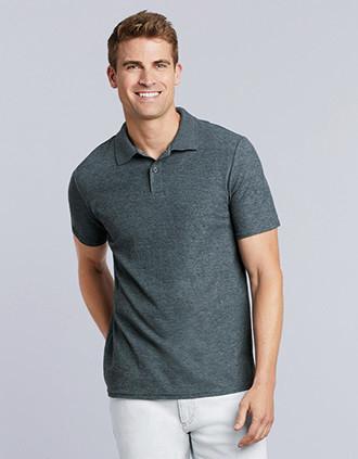 Softstyle Men's Double Piqué Polo Shirt