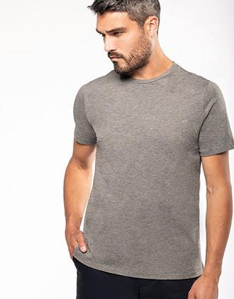 Men's short-sleeved Supima® crew neck t-shirt