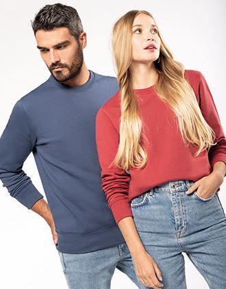 Eco-friendly crew neck sweatshirt