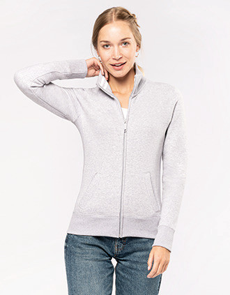 Ladies' full zip sweat jacket