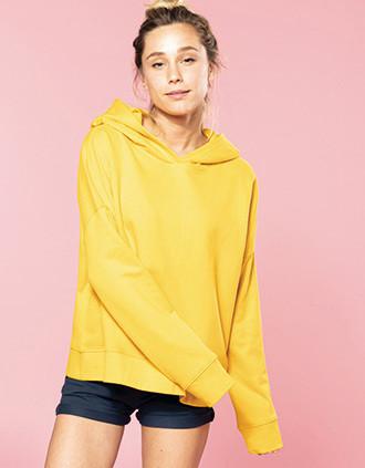 Ladies' organic lounge hoodie