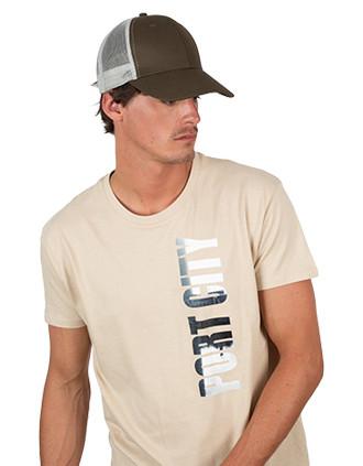 Oekotex certified trucker cap