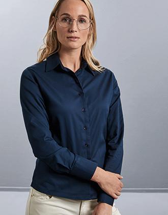Ladies' Long-Sleeved Twill Shirt